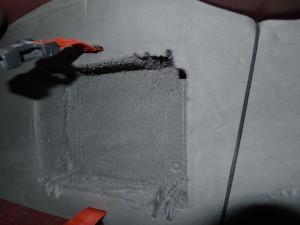 Hollowed out pillar Peli box