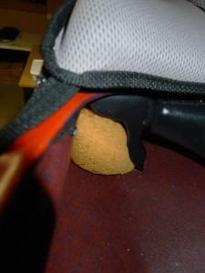 Sponge under seat
